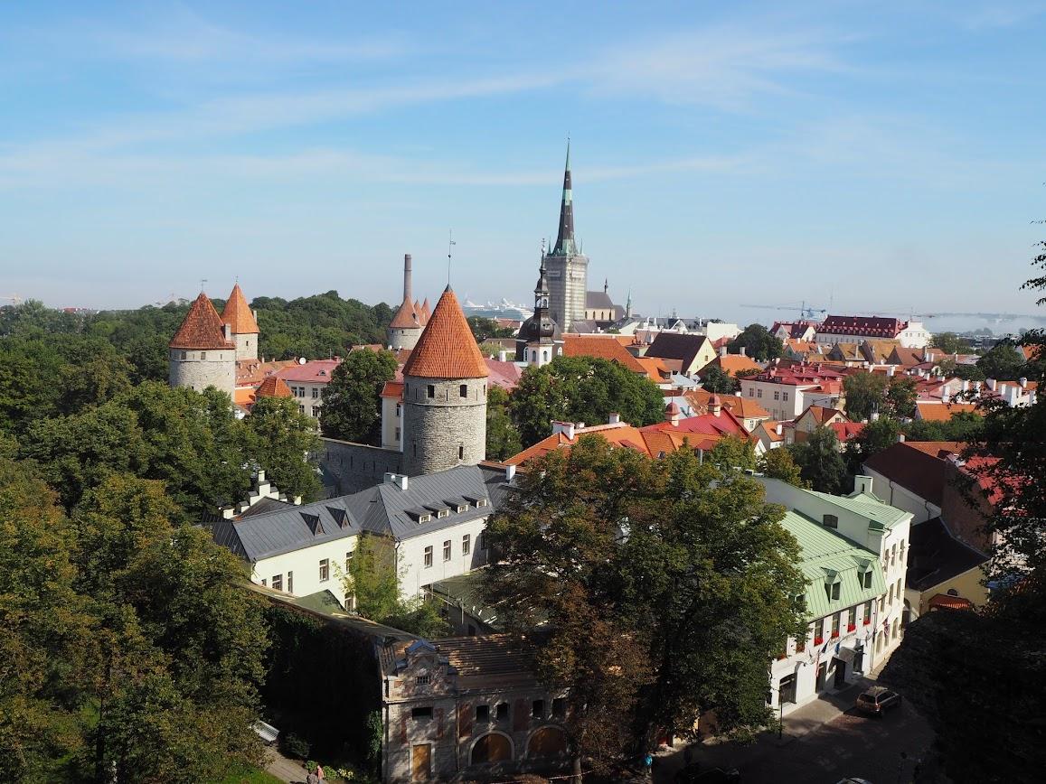 las mejores vistas de Tallin
