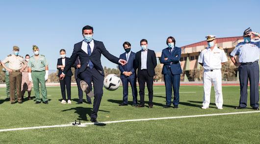 Diputación refuerza el deporte en la provincia con instalaciones e iniciativas
