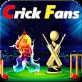 Crick Fans - Cricket Live Score App icon