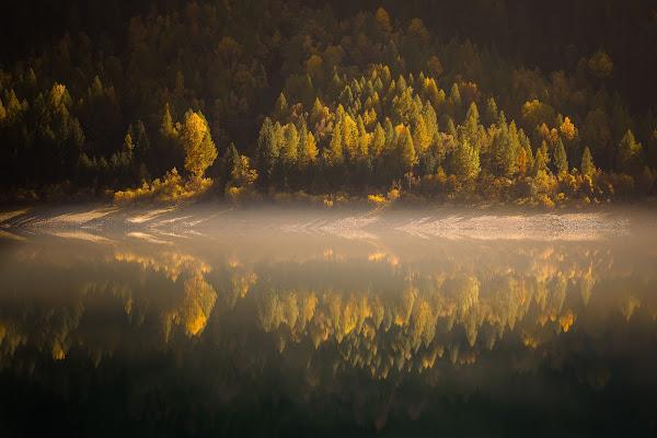 La Foschia del Lago. di NickAdami