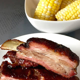 Smoked St. Louis Style Ribs.
