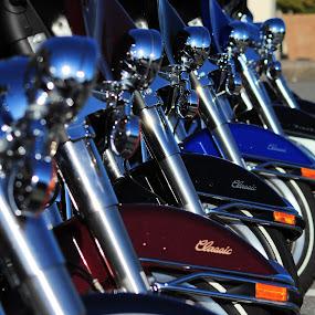 by Dennis Sorita - Transportation Motorcycles