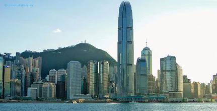 Photo: Hong Kong waterfront skyline