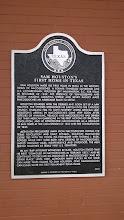 Photo: Nacogdoches City Hall Sam Houston marker