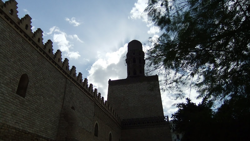 Photo: Al Hakim Mosque, one of the largest Fatimid mosques in Cairo. More info here: http://en.egypt.travel/attraction/index/al-hakim-mosque