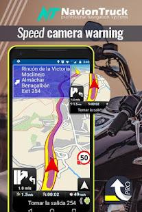 Motorbike GPS Navigation - náhled