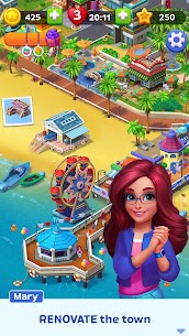Match Town Makeover Mod Apk 1.11.1202 (Unlimited Boosters/Lives) 1