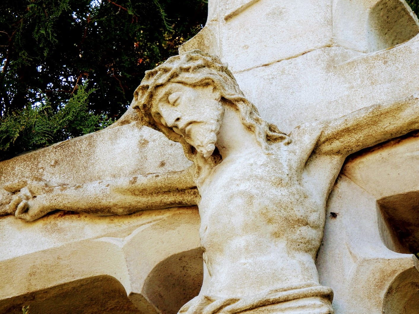 Gór - temetői kereszt