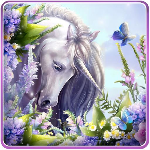 Unicorn Live Wallpaper APK Android PC Windows