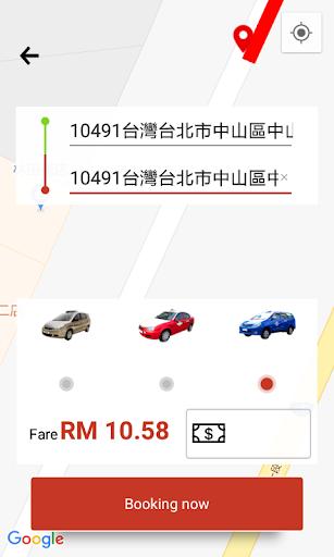 TAXI GO - Passenger CAB MMOBILITY SDN BHD screenshot 6