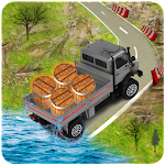 Offroad Euro Truck Drive 2017: Truck Games Icon