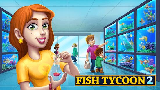 Fish Tycoon 2 Virtual Aquarium Ekran Görüntüsü