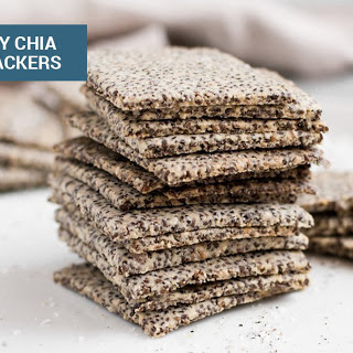 Crunchy Chia Seed Crackers Recipe