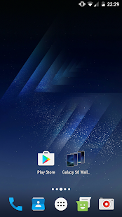 Stock Galaxy S8 Wallpapers - Muzei - náhled