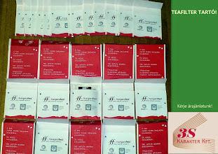Photo: Teafilter tartó gyártás.