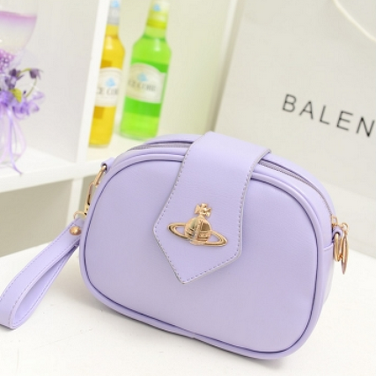 Candy Wonder Handbag/Casual Outfit-TL0023-VIOLET by DOUBLE LH SUPPLY