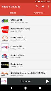 Radio FM Latina - náhled