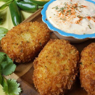 Ham Croquettes with Cheese and Jalapeño.
