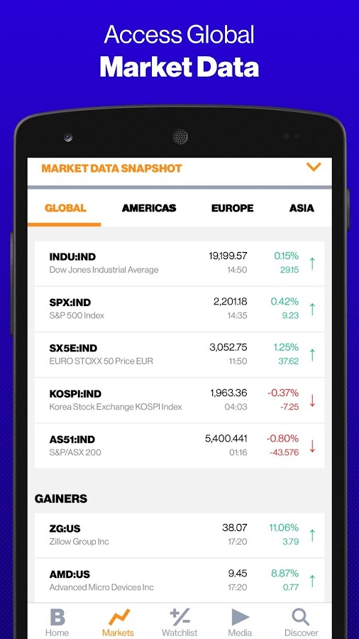 Bloomberg- screenshot