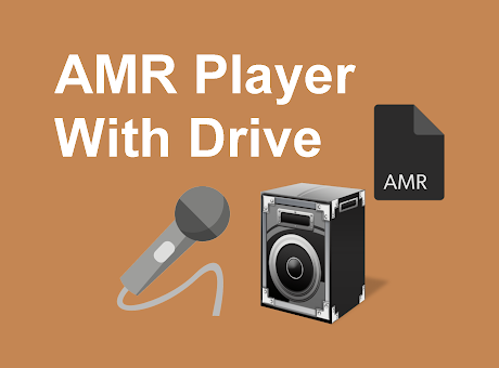 AMR Player With Google Drive