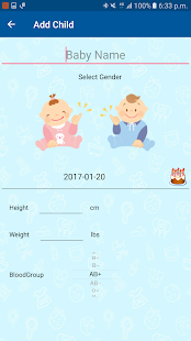 Baby Growth Tracker- screenshot thumbnail