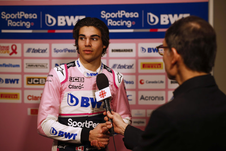 Racing Point's Lance Stroll – son of team-owner Lawrence Stroll