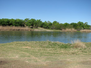 Photo: Looking across the Rio Grande to Mexico.