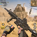 Commando Shooting Games 2021: Real FPS Free Games icon