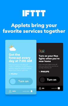 IFTTT APK screenshot thumbnail 10