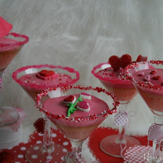 Valentine Cocktail Cupcakes