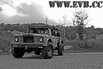 """Photo: 1968 M715 small block chevy 38"""" super swamper tires"""