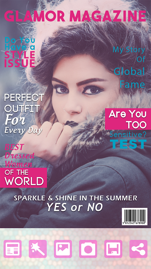 make your own magazine cover free online
