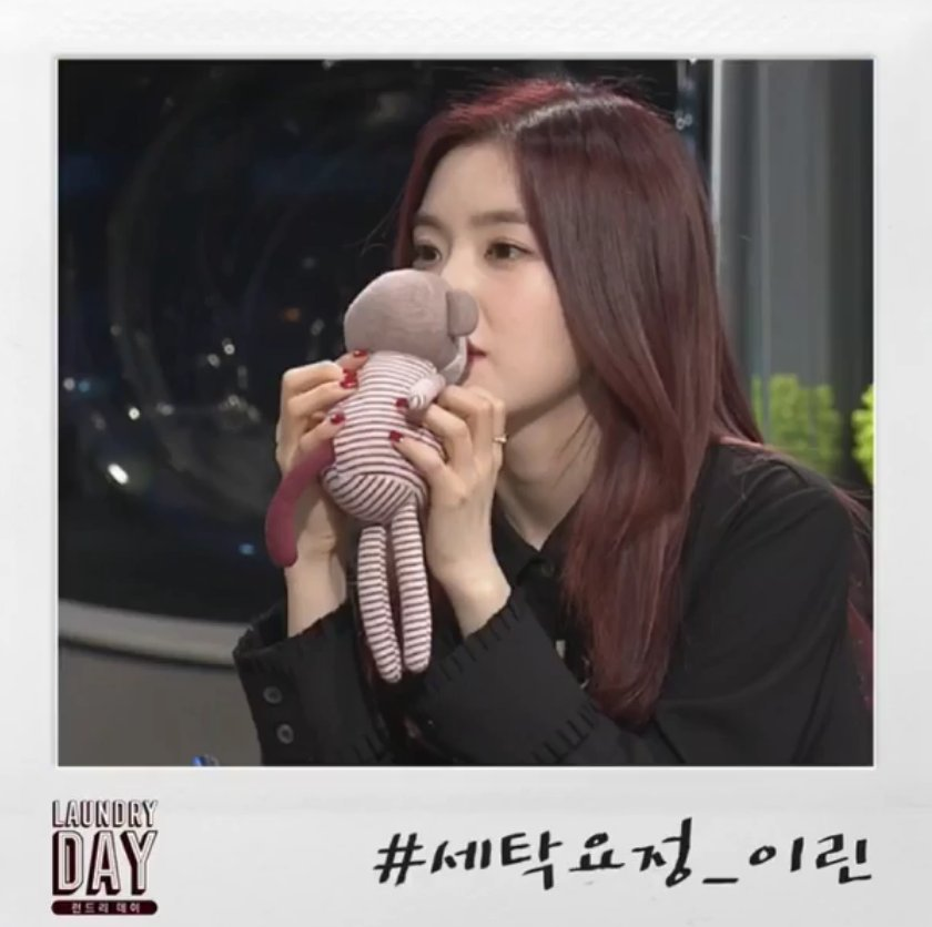 irene sniffing monkey toy