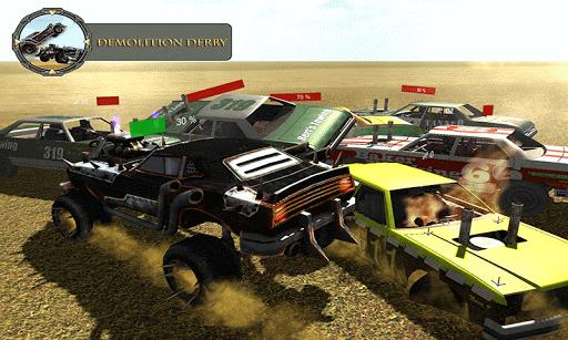Monster Car Derby Fight 2k16 1.0 screenshots 5