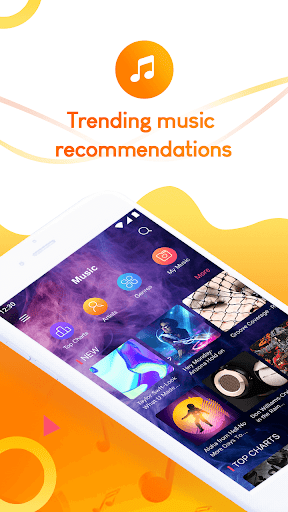 Screenshot for Tinkle Music Player - Enjoy Free Trending Songs in United States Play Store