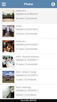 Screenshot of My ATSU Mobile