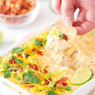 Bacon Cheddar Beer Cheese Dip.