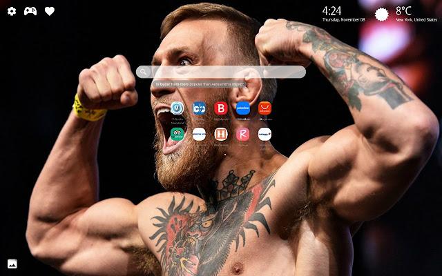 Conor McGregor UFC Wallpaper HD New Tab