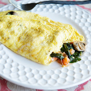 The Perfect Veggie Omelet.