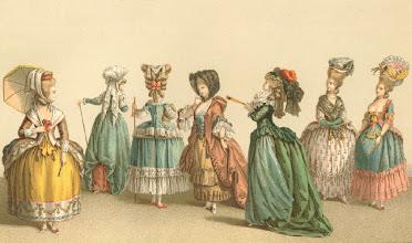 Photo: Párizsi divat XVIII. század