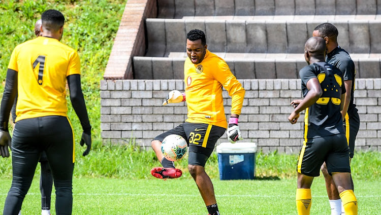 Itumeleng Khune in full training with Kaizer Chiefs: 'Ja' 'Itu' is around'