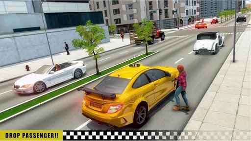 Mobile Taxi Car Driving Games Police Car Simulator 1.4 screenshots 10