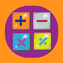 Four Operations - Blue Math Game icon
