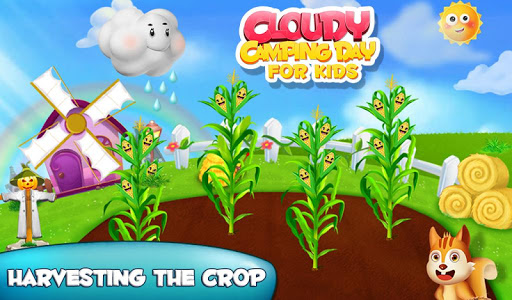 Cloudy Camping Day For Kids v1.0.1