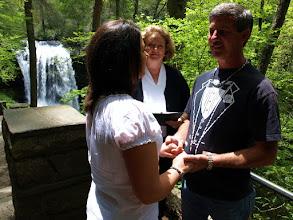 Photo: Dry Falls - Highlands, NC - http://WeddingWoman.net