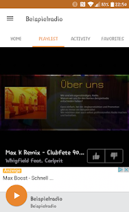 Beispielradio- screenshot thumbnail