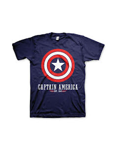 T-shirt, Captain America