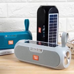 Boxa Bluetooth Stereo T&G, incarcare solara si acumulator