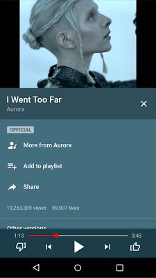 YouTube Music - screenshot