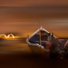 by Mohamad Sa'at Haji Mokim - Transportation Boats